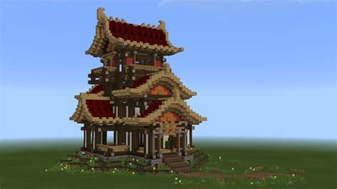 rugged east asian buildings suithinks minecraft japanese house minecraft blueprints