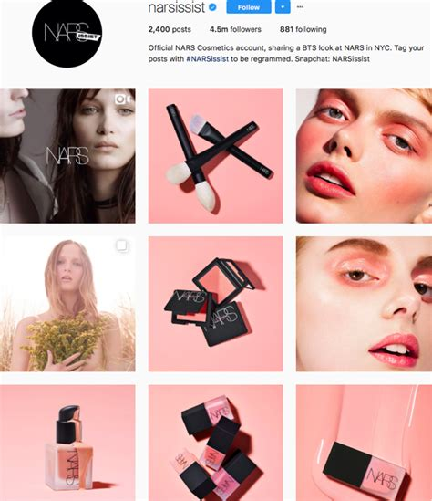 cool girl beauty brands  follow  instagram