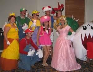 Mario Group Halloween Costume