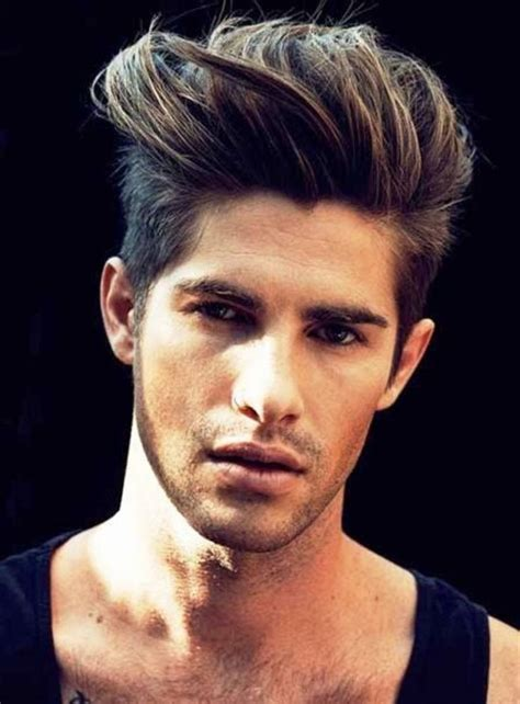 Cool New Mens Hairstyles by The Cool Brushed Up Hairstyle Mens Haircuts 2014 Mens