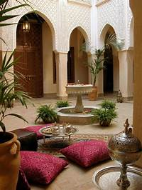 interesting moroccan patio decor ideas 55 Charming Morocco-Style Patio Designs | DigsDigs