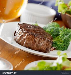Steak Dinner With Wine Stock Photo 100603195 : Shutterstock