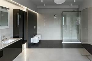 Fliesen Für Badezimmer : bodenfliesen im badezimmer fliesen trends 2016 f r moderne b der in schwarzwei freshouse ~ Sanjose-hotels-ca.com Haus und Dekorationen