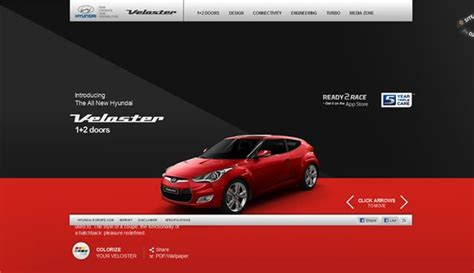 automotive websites   inspiration