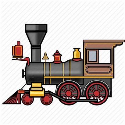 Train Steam Icon Railway Locomotive Rail Travel