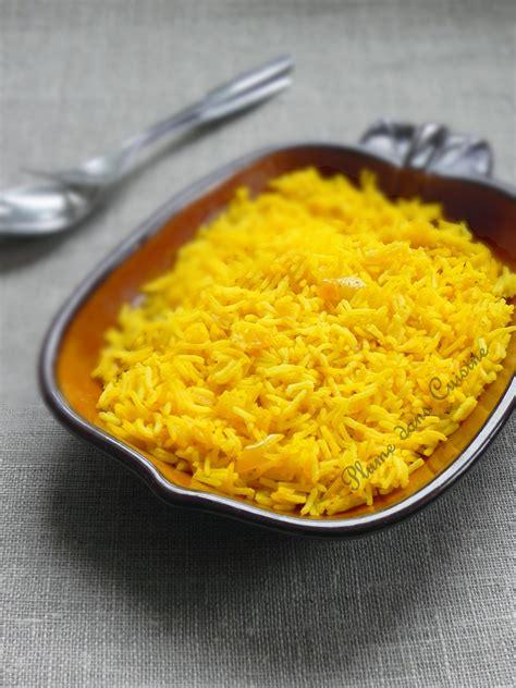 cuisine au safran riz au safran une plume dans la cuisine