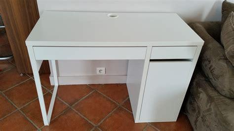 bureau micke blanc ikea bureau micke blanc