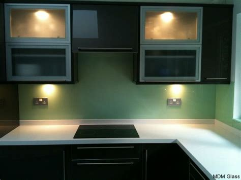green kitchen splashbacks 14 best yellow glass splashbacks images on 1436