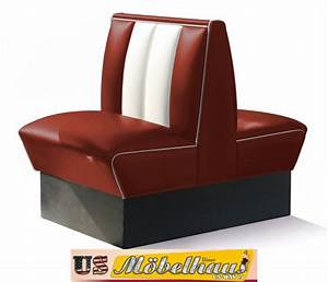 Us Diner Möbel : hw 70db ruby american dinerbank sitzbank diner b nke m bel usa style gastronomie ebay ~ Markanthonyermac.com Haus und Dekorationen