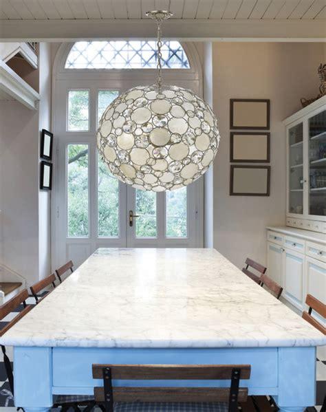 modern and capiz shell pendant chandelier