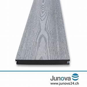 Wpc Dielen Massiv : terrassendielen grau komplettpaket senso 18 m von junova 24 ~ Markanthonyermac.com Haus und Dekorationen