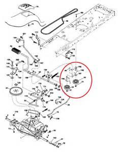 craftsman lawn mower drive belt diagram duashadi