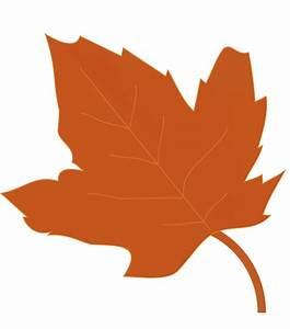 Orange Autumn Leaves Clip Art – Cliparts