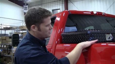 garage  total truck centers uws toolbox youtube