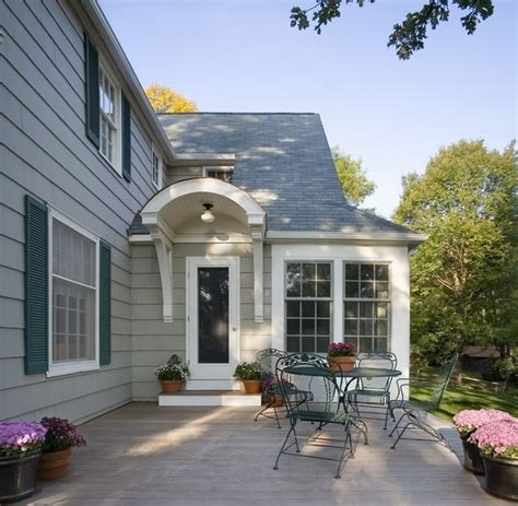 1940's Colonial Revival Remodel  Exterior  Traditional