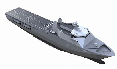 Landing Dock Platform Damen Enforcer Lpd Helicopter
