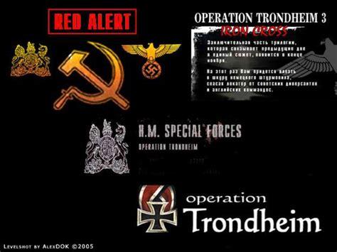 operation trondheim return  castle wolfenstein maps