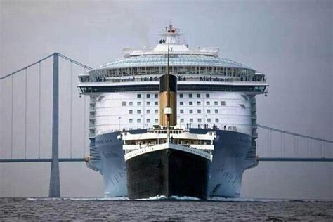 The Titanic Compared With A Modern Cruiseship - Wait But Why