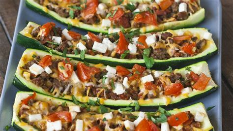Stuffed Zucchini Boats Allrecipes by 88 Best Favorite Recipes Images On Vegetarian