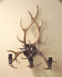 john richard 31x13x24 antler candle sconce eclectic With kitchen colors with white cabinets with deer antler candle holders