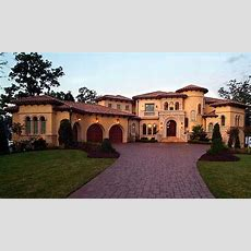 Beautiful 9,104 Sq Ft Mediterranean Style Home Front