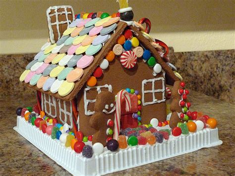 Candy Gingerbread House
