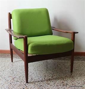 Fauteuil Scandinave Vert : fauteuil scandinave 60 39 s vert inspiration vintage ~ Teatrodelosmanantiales.com Idées de Décoration