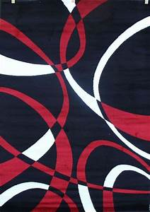 1000 images about area rugs on pinterest carpets black for Modern carpet pattern red