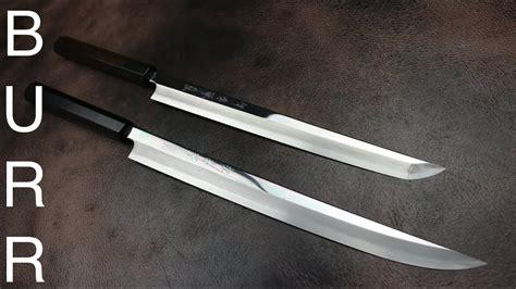 japanese kitchen knives  katana swords youtube