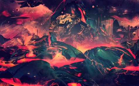 trippy lava l drawing digital lava landscapes psychedelic hd wallpapers