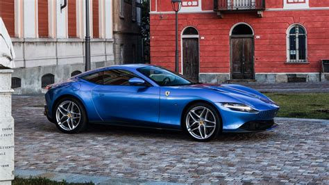 Shop with afterpay on eligible items. Blue Ferrari Roma 2021 12 4K 5K HD Cars Wallpapers | HD ...
