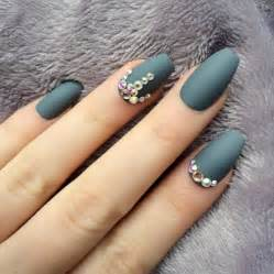 Ballerina Blue Matte Nails