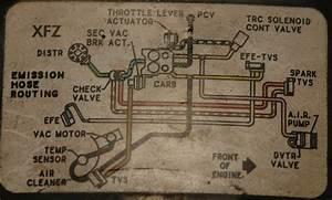 1986 Or 87 Vaccum Hose Diagram For 454 Engine