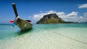 Sol y buceo en la playa de Koh Poda, en Tailandia