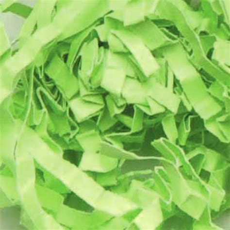 Lime Green 10 Lb Crinkle Shredded Paper