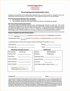 Credit Card Payment Authorization Form Template 8 Payment Authorization Form Template Simple Salary Slip