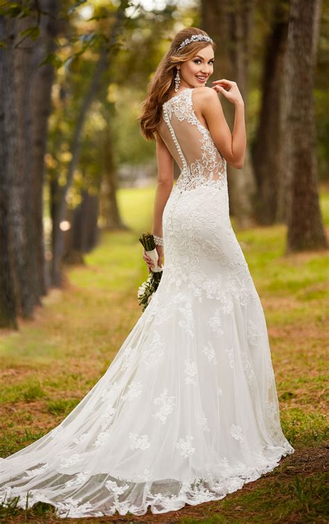 backless wedding dresses classic backless wedding dress