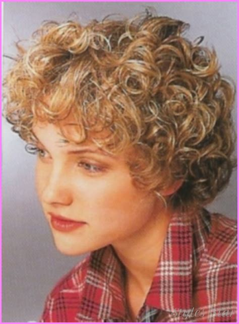 haircuts for girls with really curly hair stylesstar com