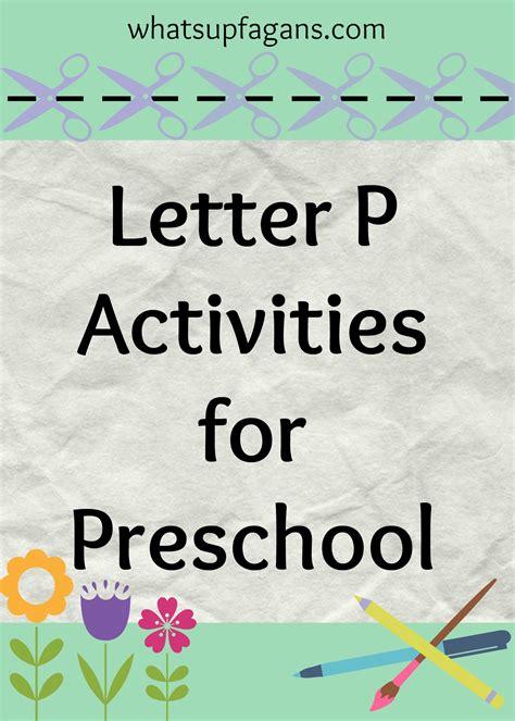 letter p activities for preschool 148 | Letter P Activities for Preschool
