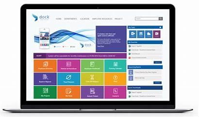 Intranet Portal Dock Sharepoint Landing Management Screenshots