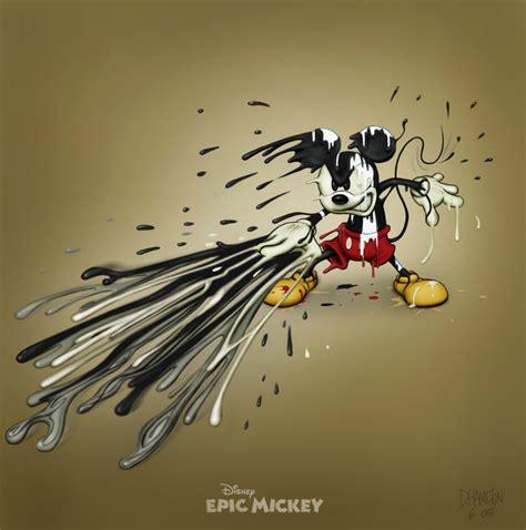 Epic Mickey Attacking By Hamilton74 On Deviantart