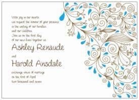 diy printable wedding invitations templates With blank brown wedding invitations