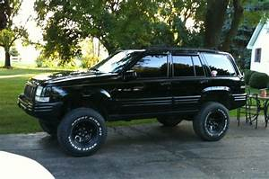 Jeep Cherokee Limited Custom Black 1997
