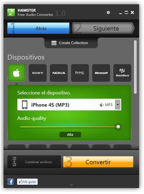 Hamster Free Audio Converter 1.0.0.20 - Download for PC Free