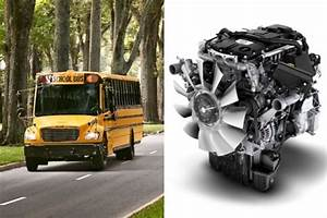 Thomas Built Debuts First C2 School Bus With Detroit Dd5 Engine - Maintenance