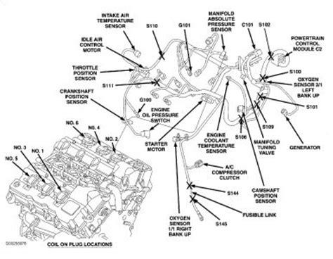 2002 Dodge Intrepid 2 7 Engine Diagram by 2004 Dodge Intrepid Camshaft Position Sensor Where Can I