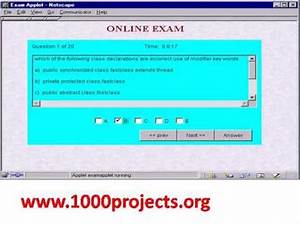 online examination system project youtube With online examination system project documentation