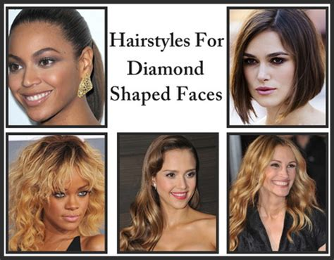 hairstyles  diamond shaped faces   hairstyle gallery