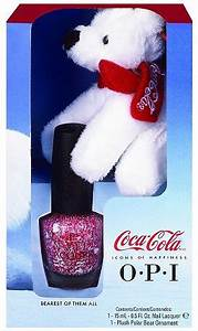 OPI Coca Cola Holiday Gift Set OPI This Bear's Got Flair