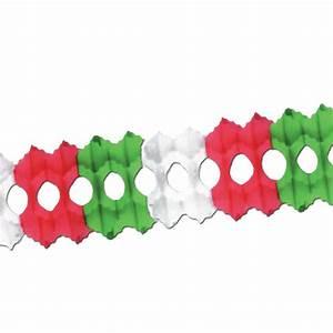 Guirlande En Papier Crépon : guirlande en papier cr pon mexique italie 250 cm prix minis sur ~ Melissatoandfro.com Idées de Décoration